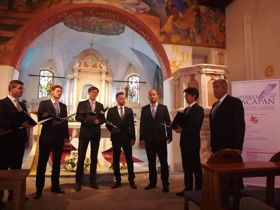Koncert na Svetih Višarjah